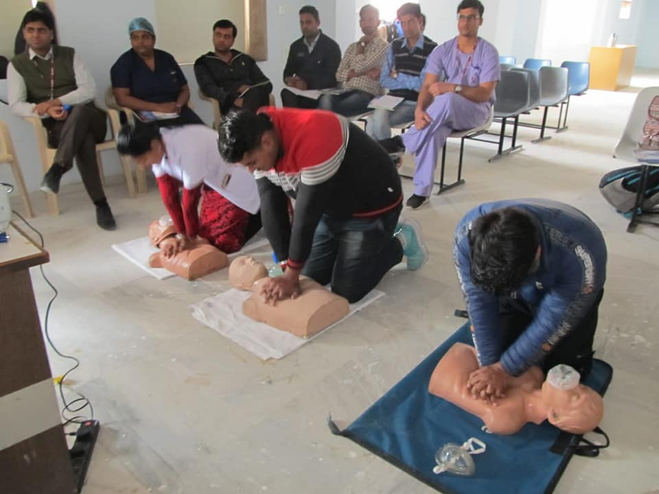 First aid CPR Training in Jaipur